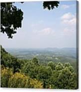Blue Ridge Parkway Scenic View Canvas Print