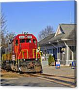 Blue Ridge Scenic Railway Canvas Print