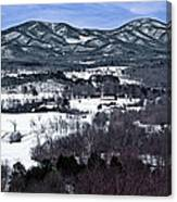 Blue Ridge Vista Canvas Print