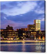 Blue Savannah Canvas Print