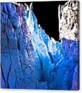 Blue Shivers Canvas Print