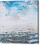 Blue Shore Rhythms And Texturesii Canvas Print