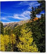 Blue Skies In Colorado Canvas Print