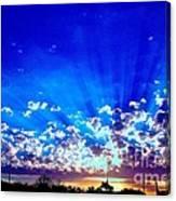 Blue Sky Shine Canvas Print