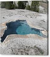 Blue Star Yellowstone Canvas Print
