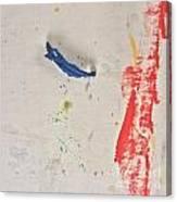 Blue Swing Canvas Print