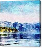 Blue Tahoe Canvas Print