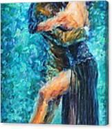 Blue Tango 2 Canvas Print