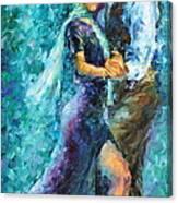 Blue Tango 3 Canvas Print