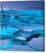 Blue Terrace Canvas Print