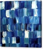 Blue Thing Canvas Print