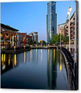 Blue Tower Canvas Print