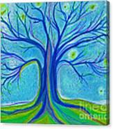 Blue Tree Sky By Jrr Canvas Print