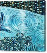 Blue Turtles Canvas Print