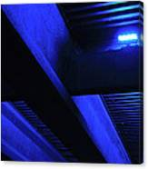 Blue Underpass Canvas Print