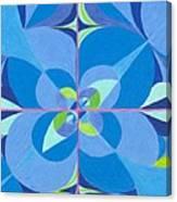 Blue Unity Canvas Print