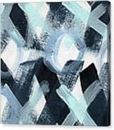 Blue Valentine- Abstract Painting Canvas Print