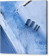 Blue Wall 03 Canvas Print