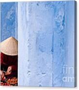 Blue Wall Hawker 01 Canvas Print