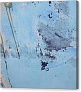 Blue Wall Textures 85 Canvas Print