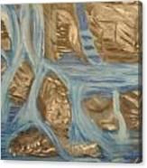 Blue Water Dancing  Canvas Print