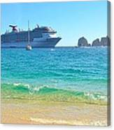 Blue Waters Of Cabo Canvas Print