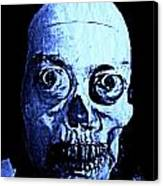 Blue Zombie Canvas Print