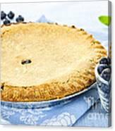 Blueberry Pie Canvas Print