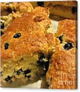 Blueberry Scones - Brunch Canvas Print