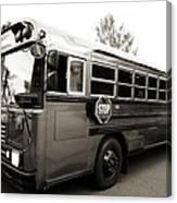Bluebird Bus Limo 2 Canvas Print