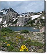 Bluebird Lake - Colorado Canvas Print