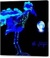 Bluebird Watching Canvas Print
