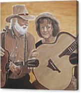 Bluegrass Music Canvas Print