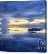 Bluer Than Blue Canvas Print