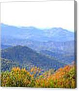 Blueridge Parkway Mm404 Canvas Print