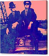 Blues Brothers 2 Canvas Print