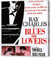 Blues For Lovers, Aka Ballad In Blue Canvas Print