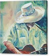 Blues Man Canvas Print