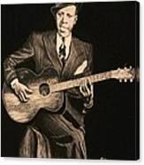 Blues Originator  Canvas Print