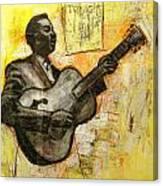 Blues Tonight Canvas Print