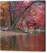 Bluestone River Canvas Print