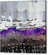 Blurred Fence Canvas Print