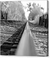 Blurred Track Canvas Print
