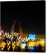 Blurry Waterfront 2 Canvas Print