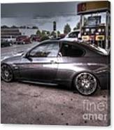 Bmw 335 Ci Twin Turbo Carbon Fiber Sports Car Canvas Print