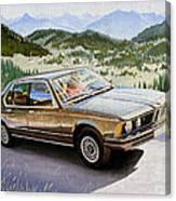 Bmw E23 Canvas Print