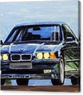 Bmw E36 Canvas Print