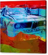Bmw Laguna Seca Canvas Print