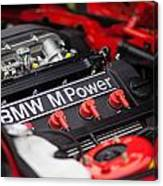 Bmw M Power Canvas Print