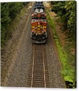 Bnsf Train 789 F Canvas Print